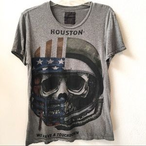 All Saints Houston We Have Touchdown T Shirt S